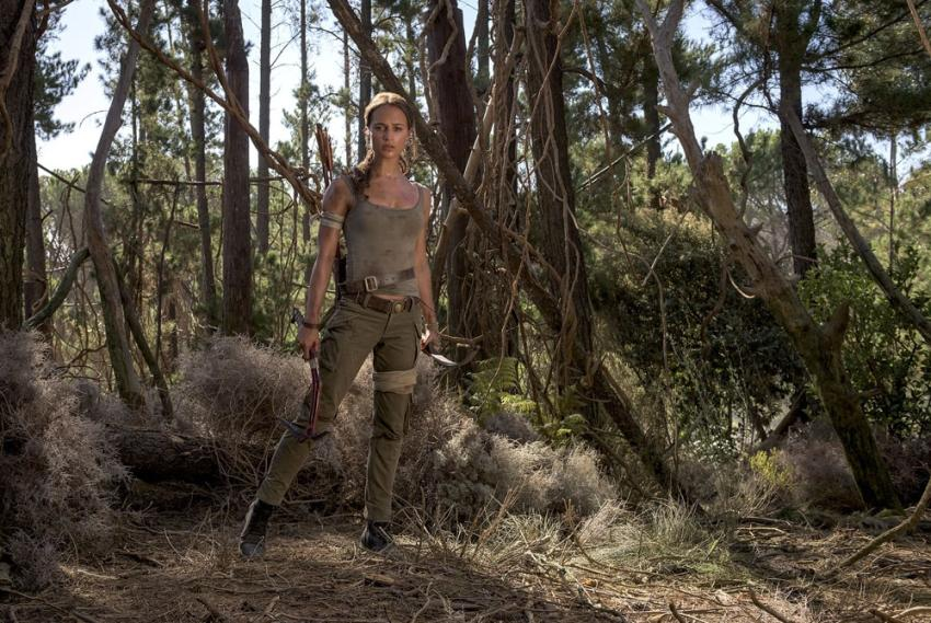 """""""Tomb Raider"""" (2018) zawita do kin już w tym tygodniu! [fot. Forum Film Poland]"""