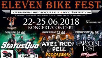 Eleven Bike Fest 2018 – poznaj szczegóły i występujących artystów! [fot. materiały prasowe]