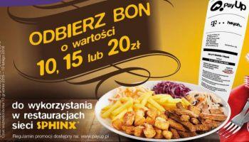 Promocja restauracji Sphinx