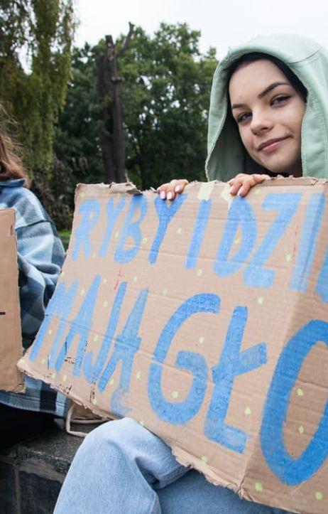 Poznań: Młodzieżowy Strajk Klimatyczny w Poznaniu