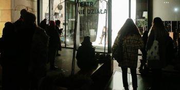 Teatr nie działa - happening Teatru Capitol