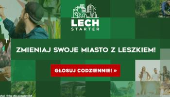 LECHSTARTER - zostały już tylko dwa tygodnie na głosowanie i zmienianie polskich miast