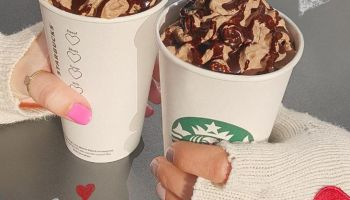 Walentynkowa Molten Hot Chocolate od Starbucks
