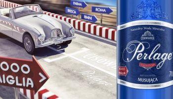 Cisowianka Perlage została partnerem rajdu Mille Miglia