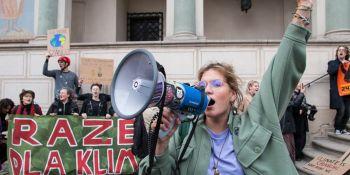 Młodzieżowy Strajk Klimatyczny w Poznaniu