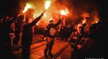 Marsz Narodowców 11 Listopada we Wrocławiu