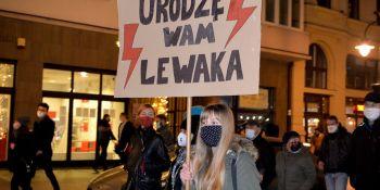 Strajk Kobiet: Wy...ać w Kosmos - manifestacja w Łodzi