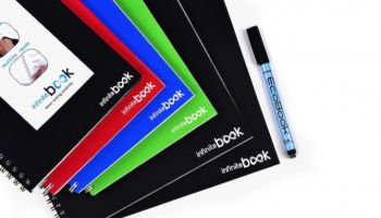 InfiniteBook – ekologiczny notes, który ewoluuje razem z naszymi pomysłami