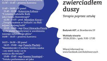 Teatr zwierciadłem duszy – konferencja o terapeutycznym aspekcie sztuki [fot. materiały prasowe Koła Inicjatyw Twórczych]