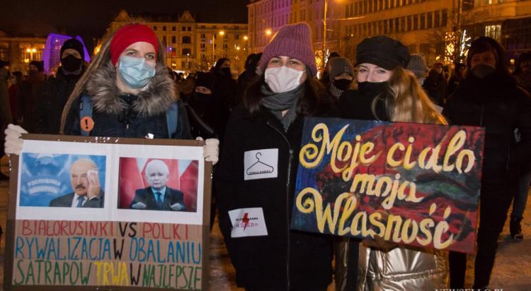 Strajk Kobiet 2021: Blokujecie aborcję - blokujemy miasto