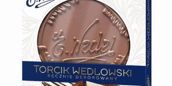 Torcik Wedlowski cena ok. 14 zł.