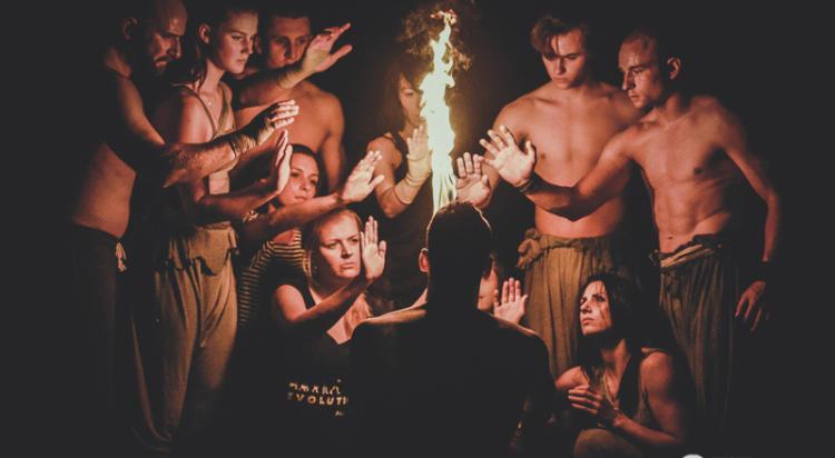 Spektakl akrobatyczno-taneczny Prometeusz, Impart