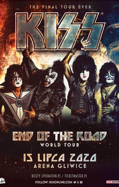 Kiss wystąpi w Gliwicach