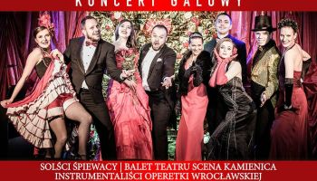 Gala Jubileuszowa 65-lecia Operetki we Wrocławiu.
