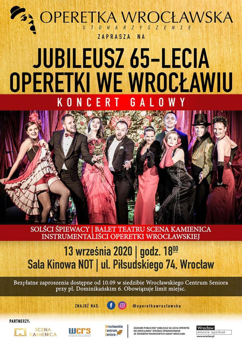 Gala Jubileuszowa 65-lecia Operetki (materiały prasowe)