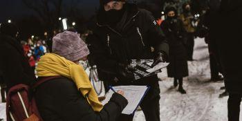 Wolne media, wolni ludzie - manifestacja w Krakowie