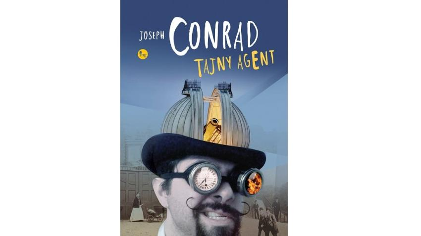 """""""Tajny Agent"""" – klasyczne dzieło Josepha Conrada już wkrótce w księgarniach! [fot. materiały prasowe]"""