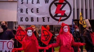 Strajk Kobiet: Dzień Niepodległości Polek - manifestacja w Łodzi