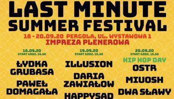 LAST MINUTE SUMMER FESTIVAL (materiały prasowe)
