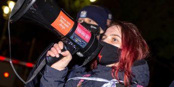 NIE dla Legalizacji przemocy - manifestacja w Warszawie