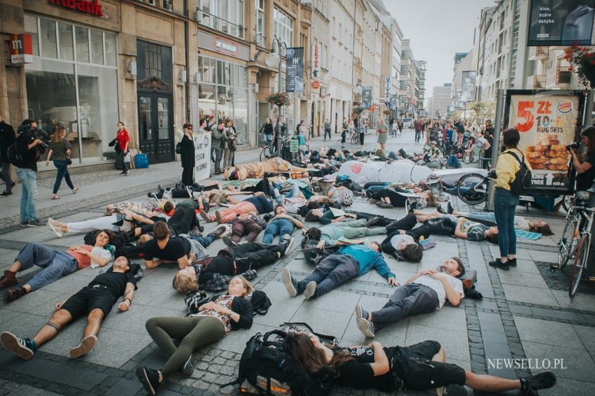 Die-In we Wrocławiu