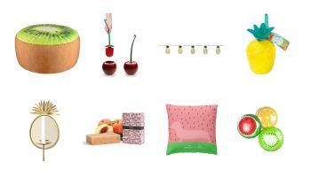 Owocowe dekoracje – zaskocz swoich gości nowoczesnym podejściem do urządzania wnętrz i organizowania imprez! [fot. Bonami.pl]