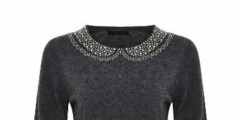 Szary sweter typu jumper 129.99 zl