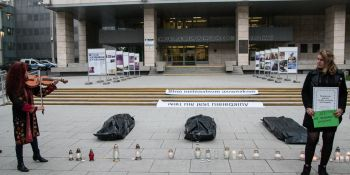 Bezpieczna granica to taka, na której NIKT nie ginie! - protest w Poznaniu