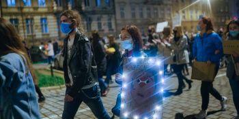 Strajk Kobiet: To jest Wojna - manifestacja w Poznaniu