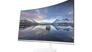 """Zakrzywiona rzeczywistość, czyli dlaczego monitory typu """"curved"""" dają lepsze pole widzenia"""