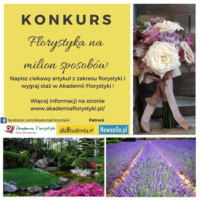 """""""Florystyka na milion sposobów"""" – konkurs z nagrodami! [fot. materiały prasowe]"""