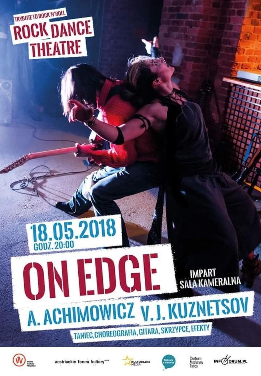On Edge – rockowy teatr tańca we Wrocławiu! [fot. materiały prasowe]