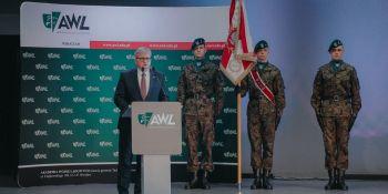 Inauguracja roku akademickiego w Akademii Wojsk Lądowych.