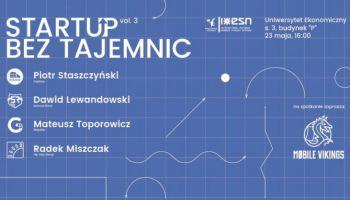 Startup bez tajemnic vol. 3. Od lokalnego burgera po międzynarodowy festiwal muzyczny - różne odsłony biznesu