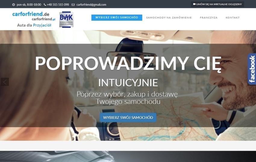 Ruszył pierwszy w Polsce sklep internetowy z samochodami używanymi!