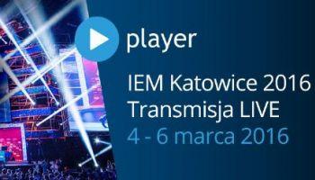 Player.pl transmituje IEM 2016