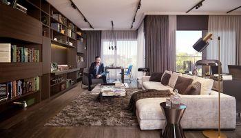 Penthouse – luksusowe mieszkanie i aranżacja na najwyższym poziomie [fot. materiały prasowe]