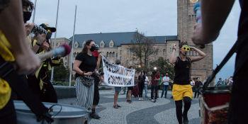 Solidarność z uchodźcami z Morii