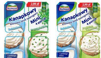Nowość od Hochland – serek Kanapkowy Mini
