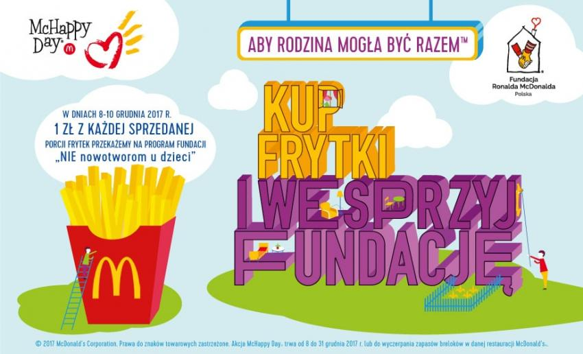 Pomagaj z McDonald's podczas McHappy Day!