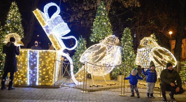 Iluminacje świąteczne w Łodzi