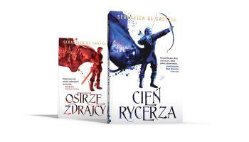 """""""Cień Rycerza"""" – druga część fantastycznej serii """"Wielkie Płaszcze"""" już w księgarniach! [fot. materiały prasowe]"""