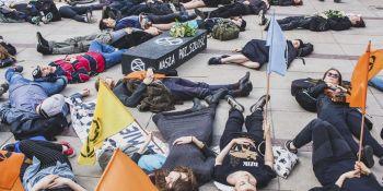 Protest Klimatyczny w Warszawie