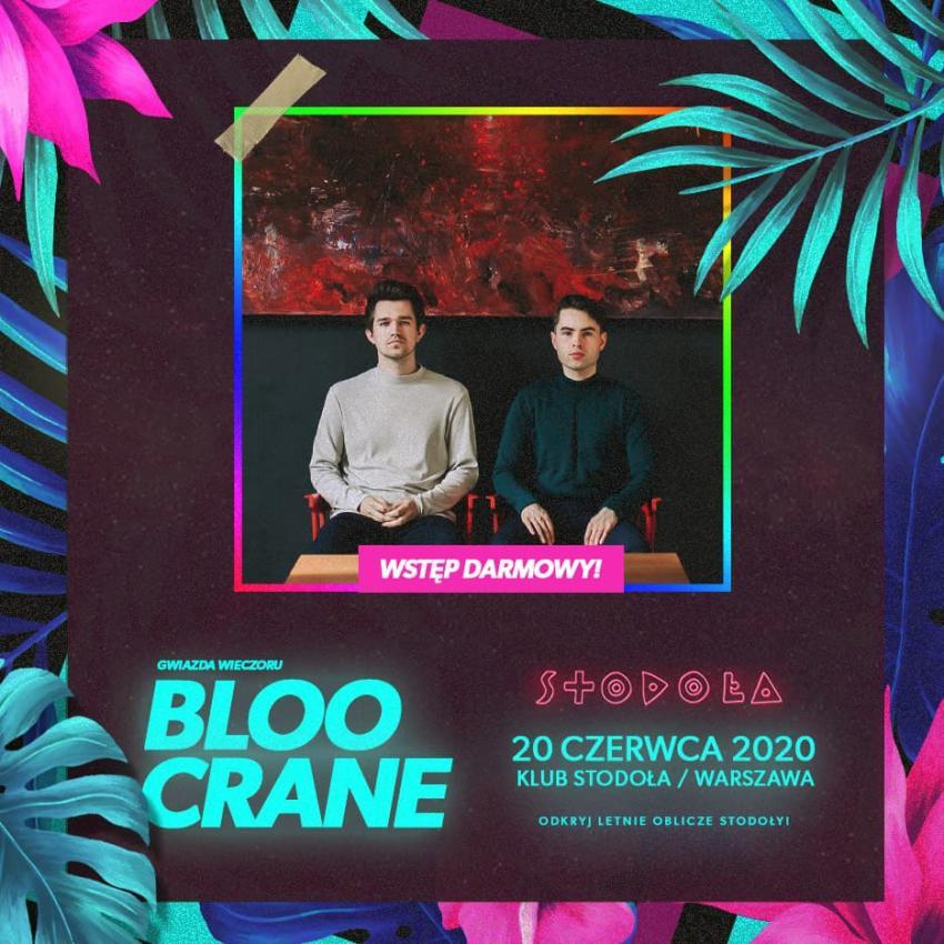 Bloo Crane + Pride Party