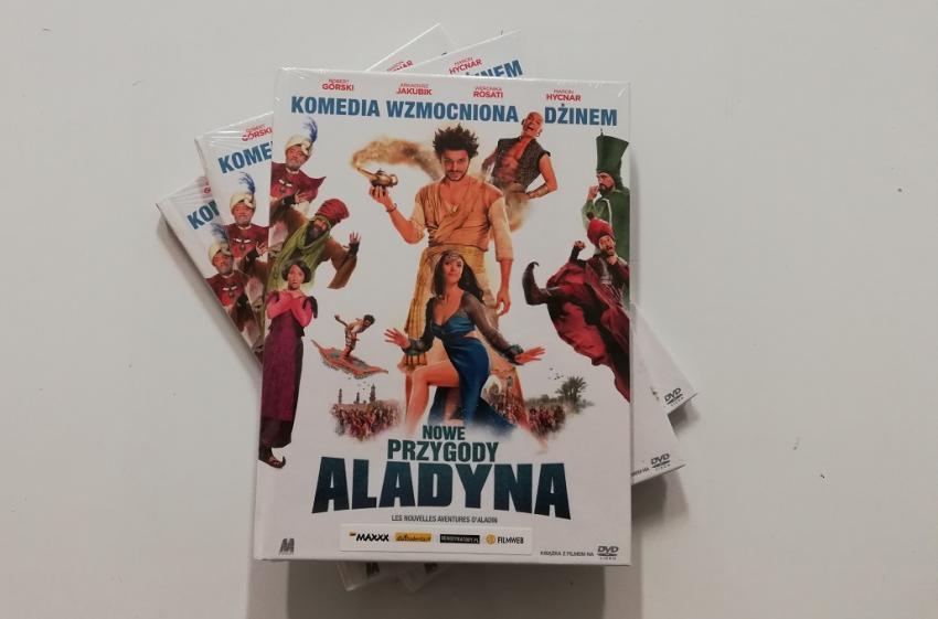 Nowe przygody Aladyna – wygraj film na DVD! [fot. własne]