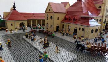 Niesamowite budowle z klocków LEGO w Rzeszowie