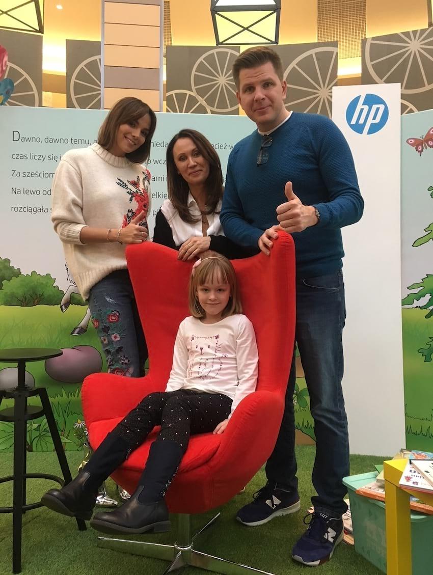 Znani dziennikarze i prezenterzy czytają dzieciom – akcja Mini Big Books od HP - Zdjęcie nr 6