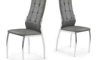 Minimalistyczne i stylowe krzesła metalowe