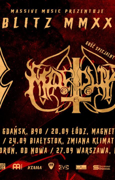Trasa koncertowa Blitzkrieg MMXX ruszy 19 września 2020