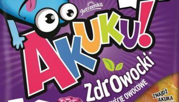 Akuku! ZdrOwocki – poznaj nowe smaki owocowych żelków! [fot. Kolterman Media Communications / Colian Sp. z o.o.]